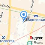 Адвокатская консультация №44 на карте Санкт-Петербурга
