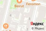 Схема проезда до компании ЮрСервис в Санкт-Петербурге