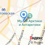 АлександрИнн на карте Санкт-Петербурга