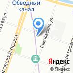 Нордбер-Трансфарм на карте Санкт-Петербурга