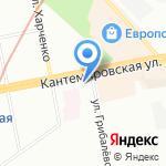 Хуторок натуральные продукты на карте Санкт-Петербурга