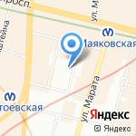 Солдатики на карте Санкт-Петербурга
