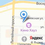 СоюзГенСтрой на карте Санкт-Петербурга