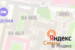 Схема проезда до компании Luna в Санкт-Петербурге