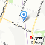 Социально-реабилитационный центр для несовершеннолетних Фрунзенского района на карте Санкт-Петербурга