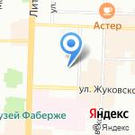 Ответ на карте Санкт-Петербурга