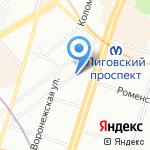 REG.RU на карте Санкт-Петербурга