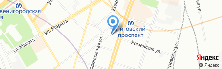 Консалт Групп на карте Санкт-Петербурга