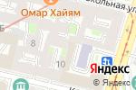 Схема проезда до компании CrazyKapusta в Санкт-Петербурге