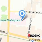 Медицинский колледж №1 на карте Санкт-Петербурга