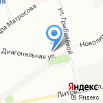 ifitnesse на карте Санкт-Петербурга