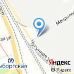 ХоумАвтоПлюс на карте Санкт-Петербурга