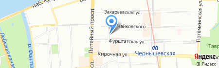 МосПик на карте Санкт-Петербурга