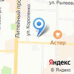 КОНТИНЕНТ на карте Санкт-Петербурга