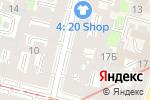Схема проезда до компании Рона в Санкт-Петербурге