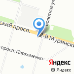 Алма на карте Санкт-Петербурга
