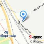 Ладиза на карте Санкт-Петербурга
