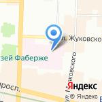 Отделение переливания крови на карте Санкт-Петербурга