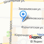 БРАВО на карте Санкт-Петербурга