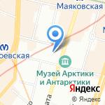 ВалаАМ на карте Санкт-Петербурга