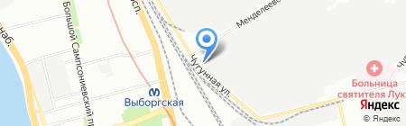ГИРООПТИКА на карте Санкт-Петербурга