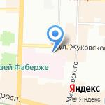 Дом Шавермы на карте Санкт-Петербурга