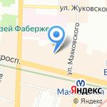 Невский проспект дом №88 на карте Санкт-Петербурга