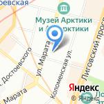 Nadin на карте Санкт-Петербурга