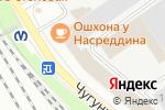Схема проезда до компании РЕСУРС в Санкт-Петербурге