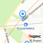 ТК АМПЕРИЯ на карте Санкт-Петербурга