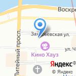 Национальная Корпорация Связи на карте Санкт-Петербурга
