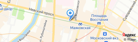 Lostroom на карте Санкт-Петербурга