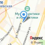 СУ №308 на карте Санкт-Петербурга