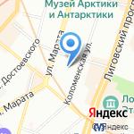 Desan на карте Санкт-Петербурга