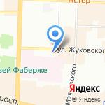 Адвокатский кабинет Логинова А.В. на карте Санкт-Петербурга