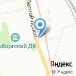 Комплексный центр социального обслуживания населения Калининского района на карте Санкт-Петербурга