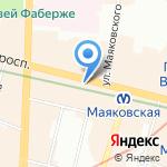 Дом ужаса на карте Санкт-Петербурга