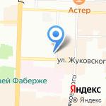 Трюфель на карте Санкт-Петербурга