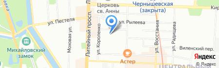 Банкомат МДМ Банк на карте Санкт-Петербурга