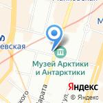 Санкт-Петербургские ведомости на карте Санкт-Петербурга