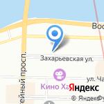 Спецприемник на карте Санкт-Петербурга