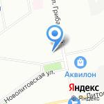 Итриум СПб на карте Санкт-Петербурга