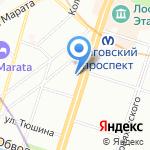 by Alena Dementeva на карте Санкт-Петербурга