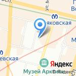 РЕСО-Мед на карте Санкт-Петербурга