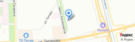 Пловдив на карте Санкт-Петербурга