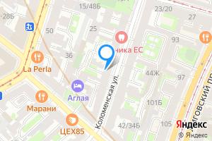 Двухкомнатная квартира в Санкт-Петербурге м. Лиговский проспект, Коломенская улица, 31