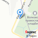 Глобал Космед на карте Санкт-Петербурга