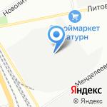 ТИВАС на карте Санкт-Петербурга