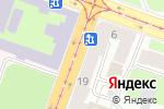 Схема проезда до компании Магазин колготок и женской одежды в Санкт-Петербурге