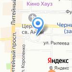 Спасо-Преображенский Собор на карте Санкт-Петербурга